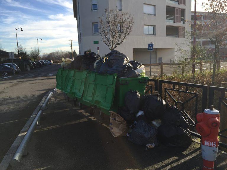 Grève de la collecte des déchets