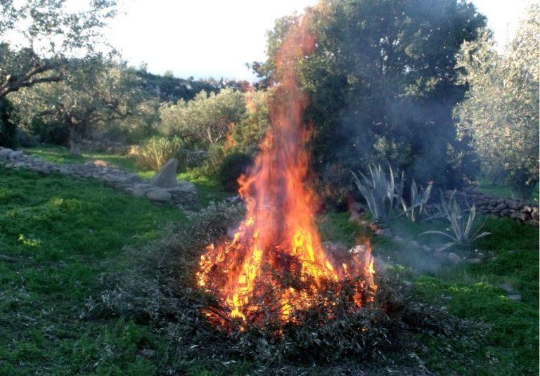 Largement pratiqué, le brûlage des déchets verts reste strictement interdit