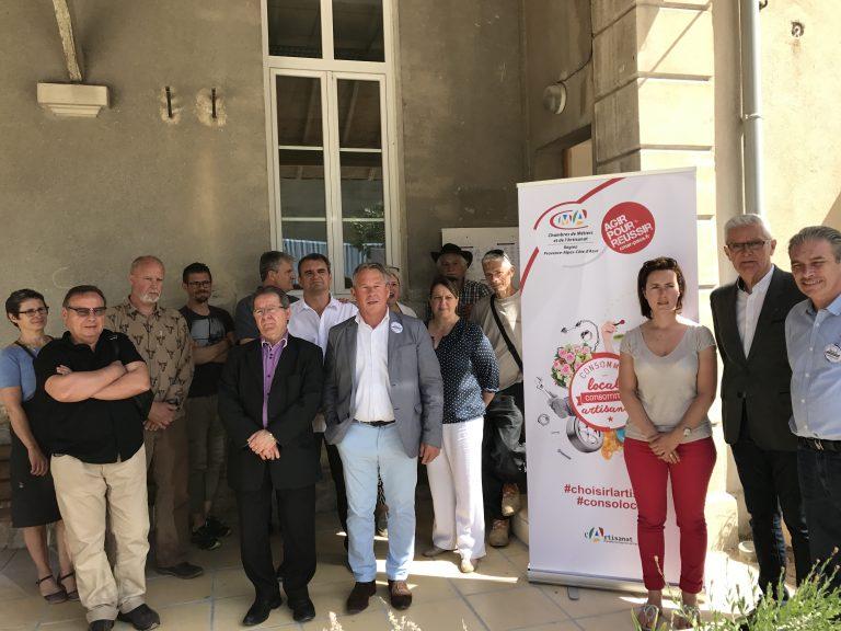 Artisanat : La commune signe une charte pour l'économie de proximité