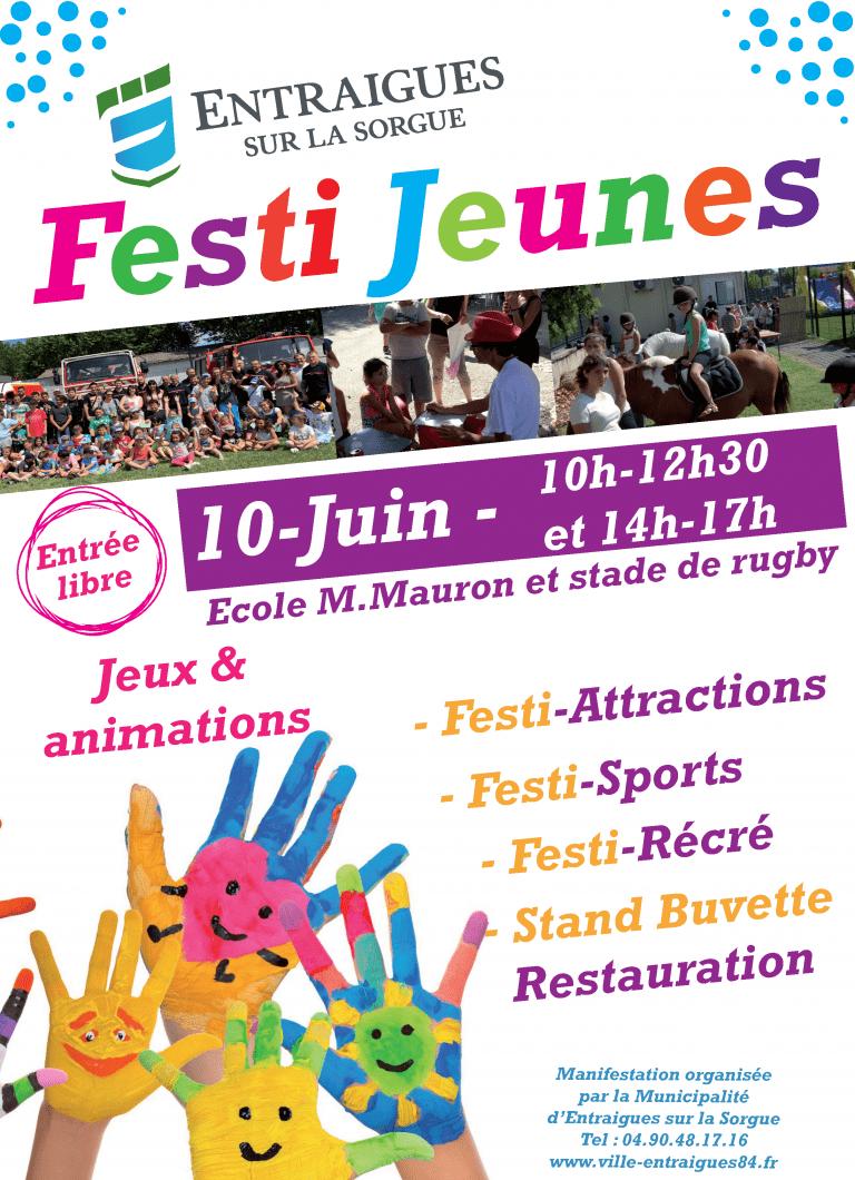 RDV le samedi 10 juin pour le Festi-jeunes