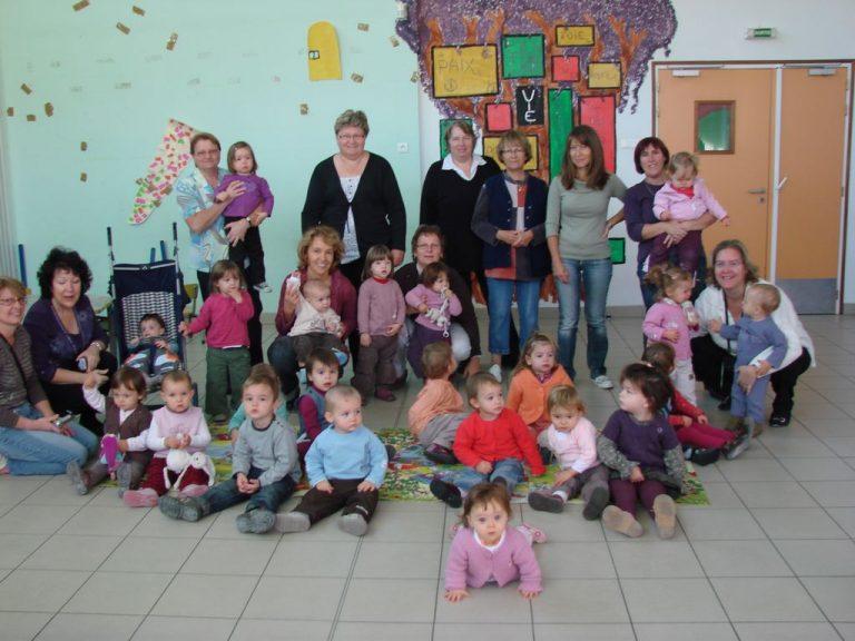 De nombreuses activités au Relais Assistantes Maternelles d'Entraigues