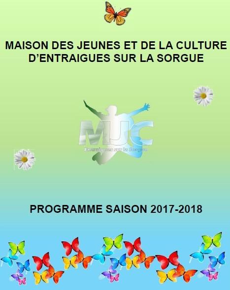 Retrouvez le Programme saison 2017/2018 à la MJC