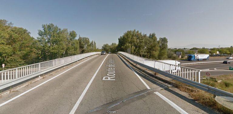 Travaux au niveau du Pont de Vedène du 11 au 21 septembre
