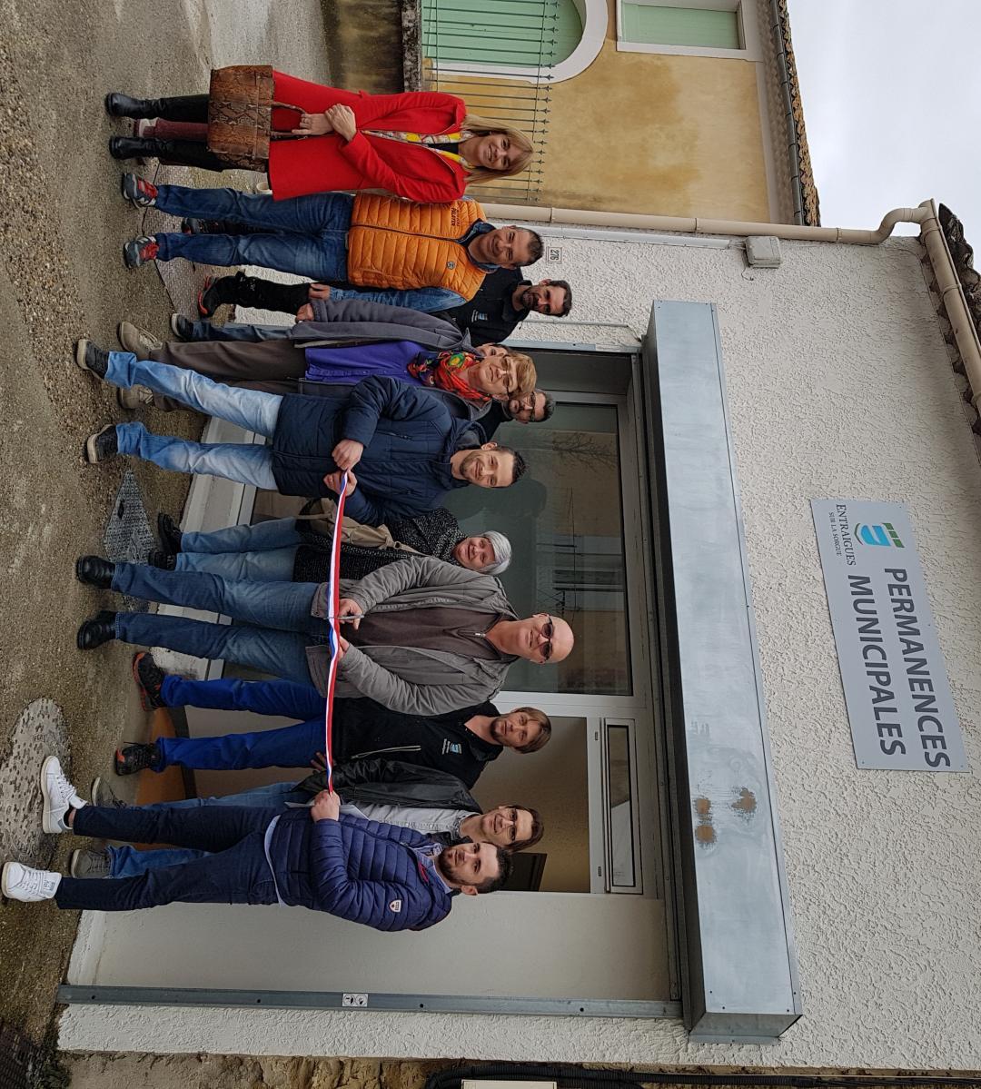 Le nouveau local de permanences municipales inauguré !