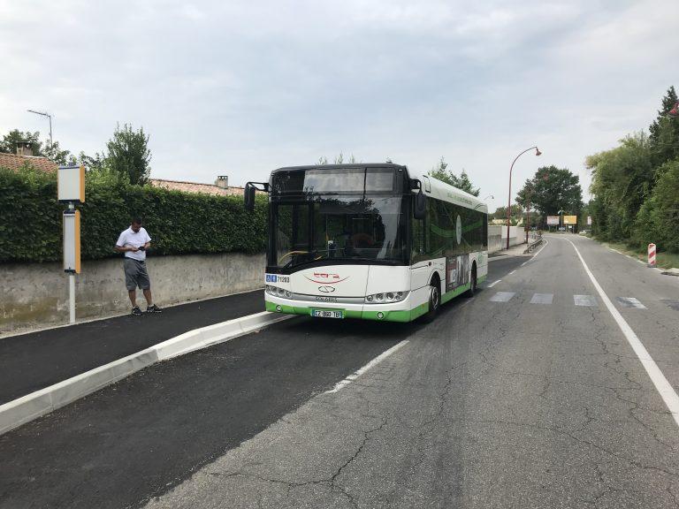 Travaux de mise en accessibilité et de sécurisation d'arrêts de bus