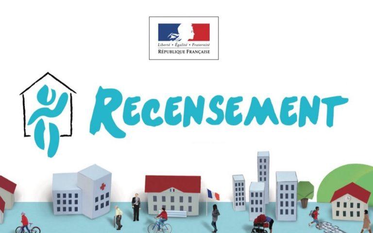 Le recensement de la population à Entraigues aura lieu du 15 janvier au 16 février 2019