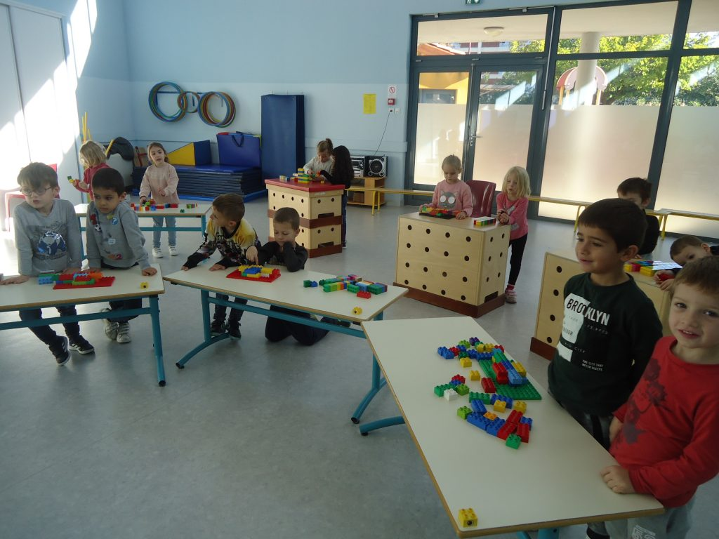 atelier construction de lego