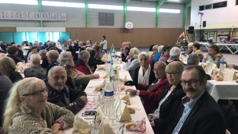 277 convives au repas de Noël des seniors