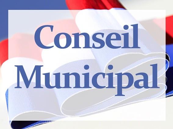 Ordre du jour du conseil municipal du 21 mars 2019