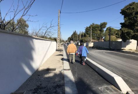Route avignon