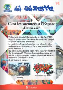 Gazette de l'Espace Jeune