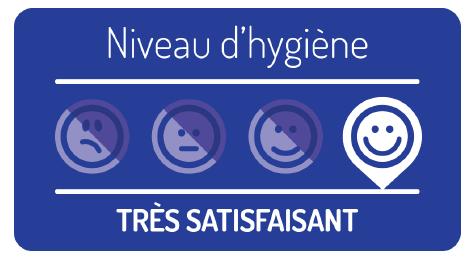 La cuisine centrale reçoit de nouveau un niveau d'hygiène jugé très satisfaisant par la Direction Départementale de la Protection des Populations !