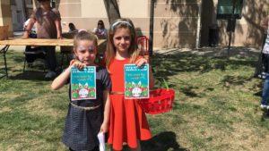 150 enfants pour la chasse aux oeufs