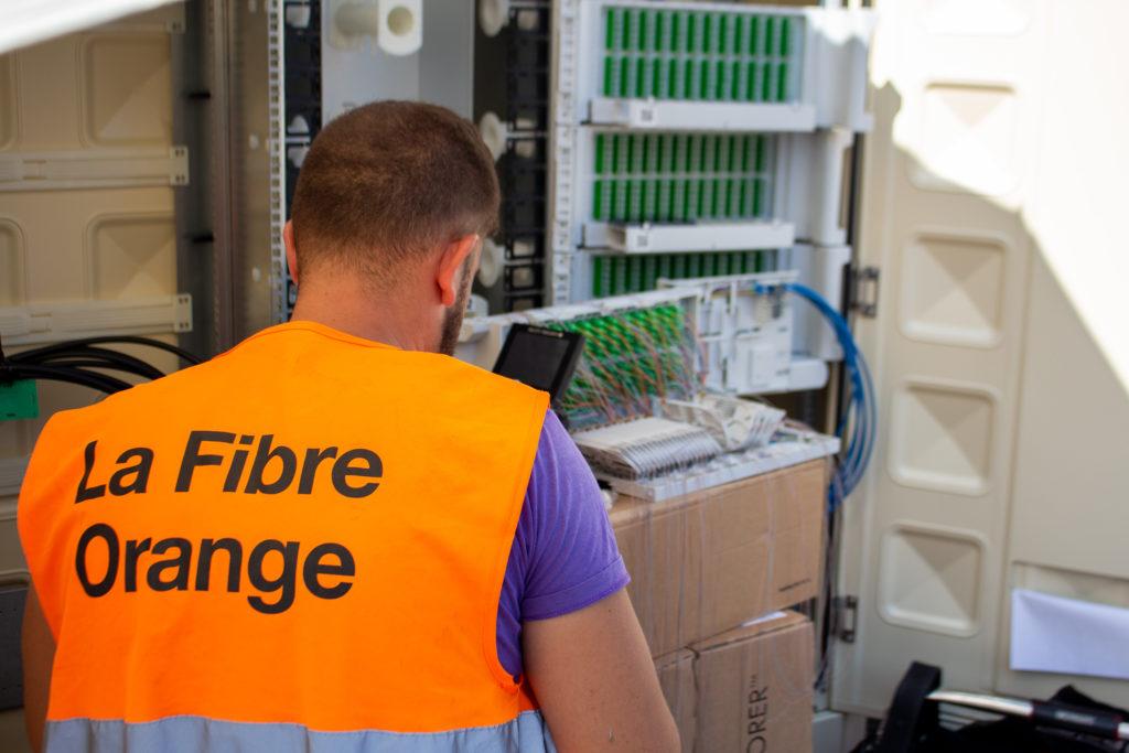 photo installation fibre