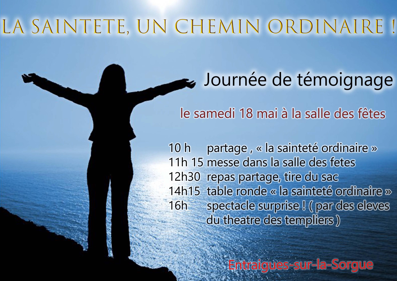 Affiche Sainteté
