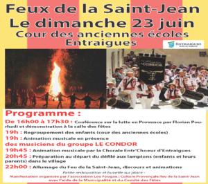 affiche feu de la saint jean