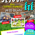 Séjour Espace Jeunesse