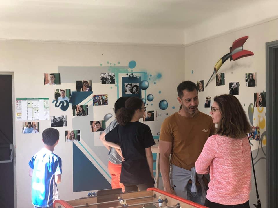 Inauguration et vernissage à l'Espace jeunesse