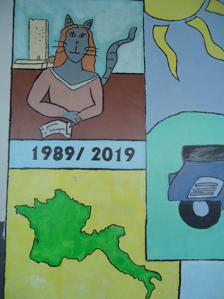 30 ans Jumelage fresque