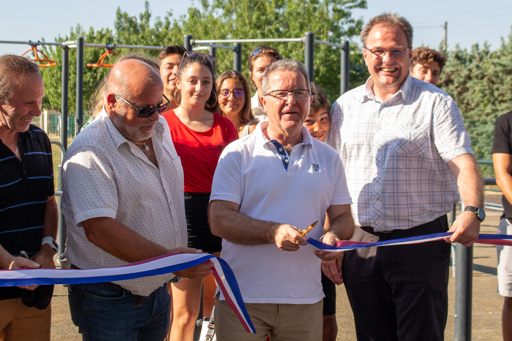 Inauguration de l'Espace ludo sportif