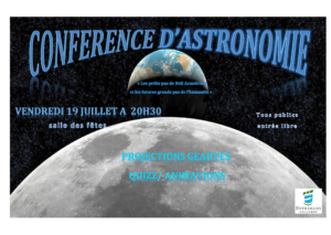 Affiche conférence astro