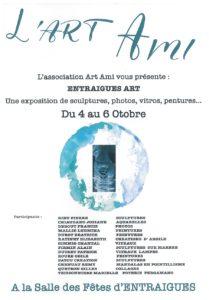 Affiche exposition Art Ami