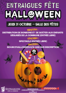 affiche pour halloween