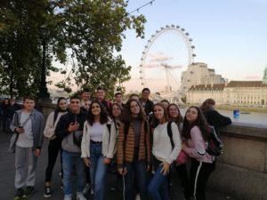 Un voyage à Londres pour les jeunes de l'Espace jeunesse
