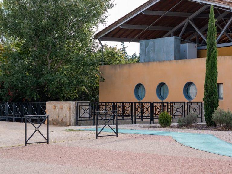 Photo travaux passerelle Moulin des Toiles