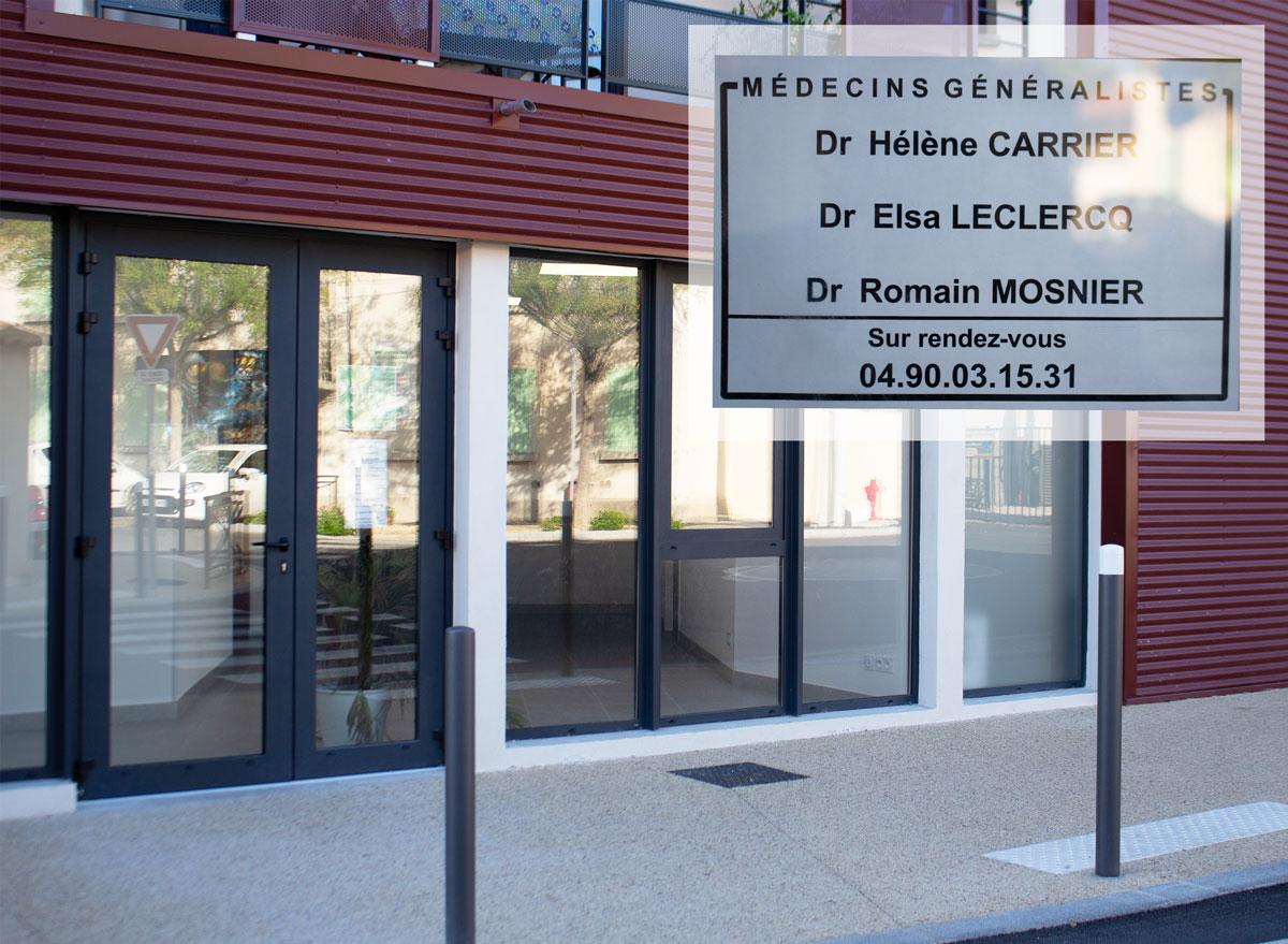 Installation de nouveaux médecins dans la commune