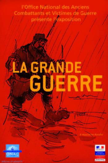 affiche exposition la grande guerre