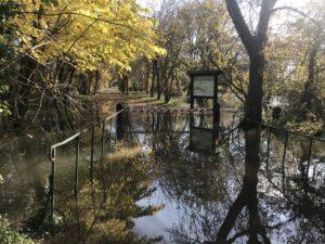 Intempéries du week-end du 23/24 novembre : La commune a fait une demande communale de reconnaissance de l'état de catastrophe naturelle