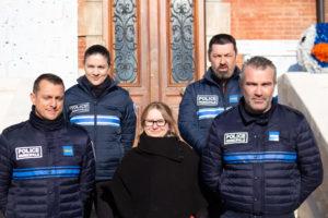 Une nouvelle policière municipale