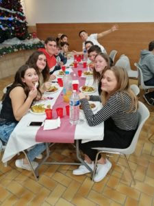 Les repas Jeunes et parents