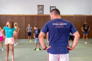 Un stage de Capoeira pour le centre de loisirs