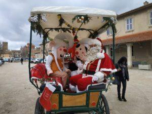 Le Père Noël a fait escale à Entraigues