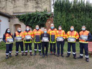 Le calendrier des pompiers sera distribué aux entraiguois avec le bulletin municipal