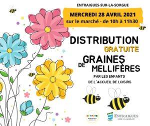 La commune renouvelle l'opération « Aidons nos abeilles » en distribuant des sachets de fleurs mellifères