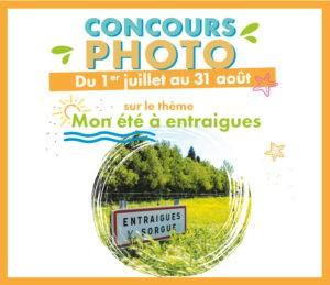 """Concours photo """"Mon été à Entraigues"""""""