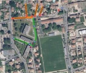 La seconde phase des travaux du Boulevard Saint Roch va débuter le 14 juin
